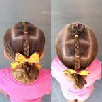 Peinados con moños para las princesas
