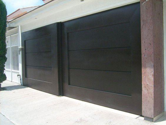 Portones herreria diseno casa 12 decoracion de Puertas corredizas hierro
