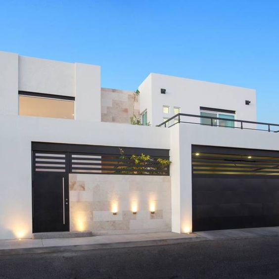Portones herreria diseno casa 22 decoracion de for Disenos de frentes de casas modernas