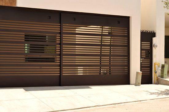 Portones herreria diseno casa 26 decoracion de for Modelos de portones metalicos para casas