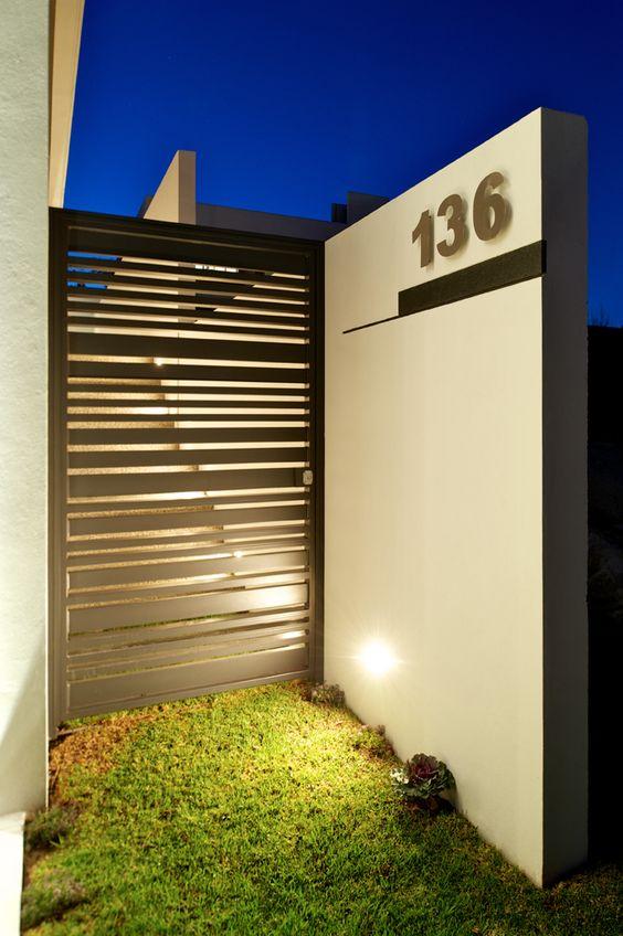 Portones de herrer a para el dise o de tu casa for Disenos minimalistas para casas pequenas
