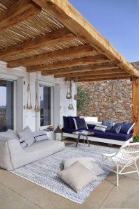 Salas para decorar terrazas