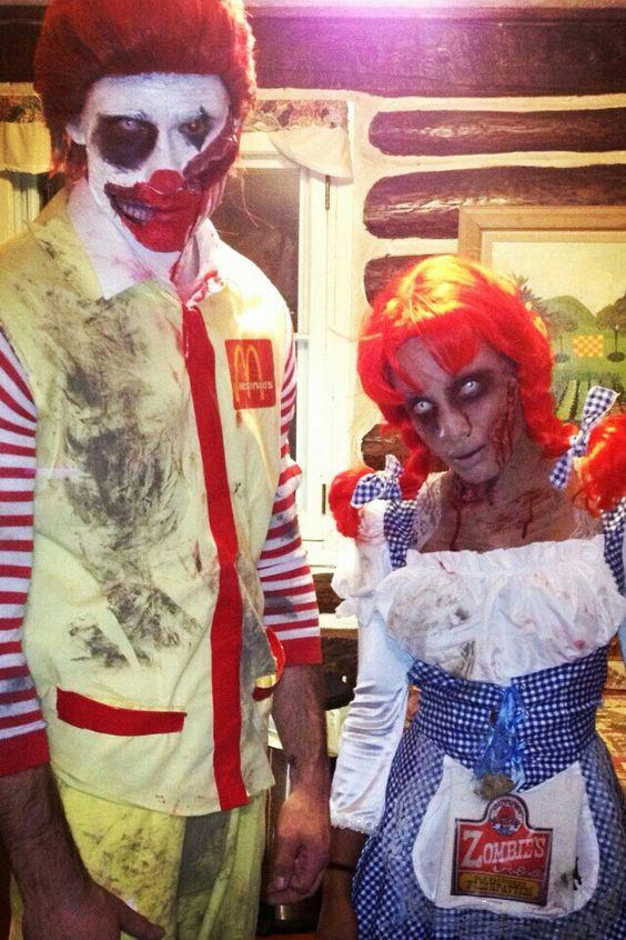 Disfraz de Mac Donalds en halloween