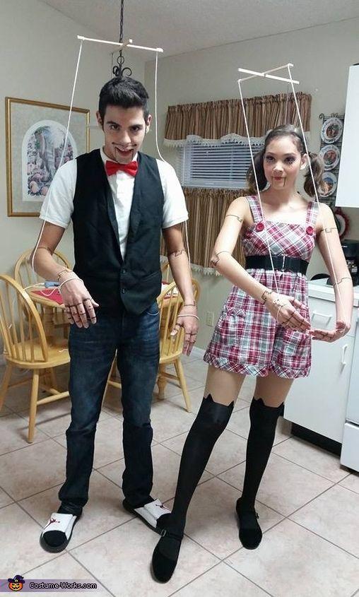 disfraz de muñeco ventrilocuo para halloween