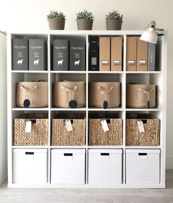 Ideas de almacenaje para espacio pequeño