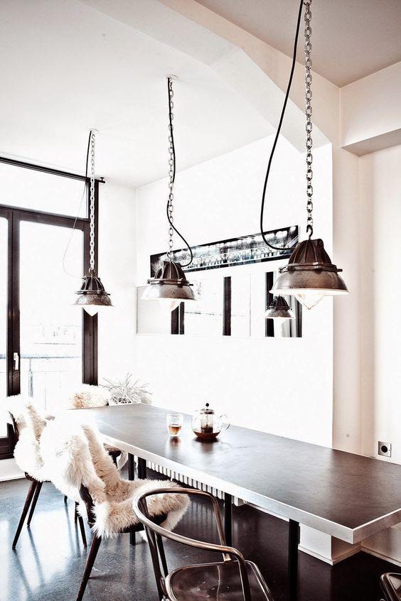 12 Ideas para decorar con lámparas con Estilo Minimalista