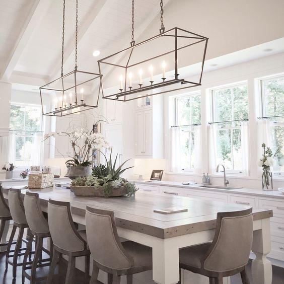 Lighting Over Kitchen Table Best Dining Ideas On Light: 12 Ideas Para Decorar Con Lámparas Con Estilo Minimalista