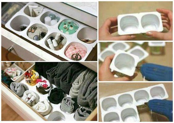 31 Ideas Sencillas para Organziar la Lencería