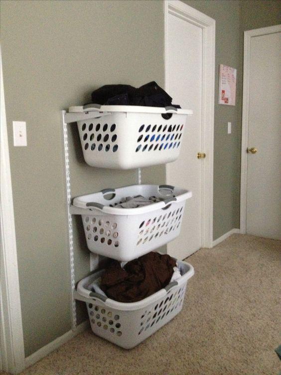 37 ideas pr cticas para organizar el cuarto de lavado for Ideas para organizar el cuarto