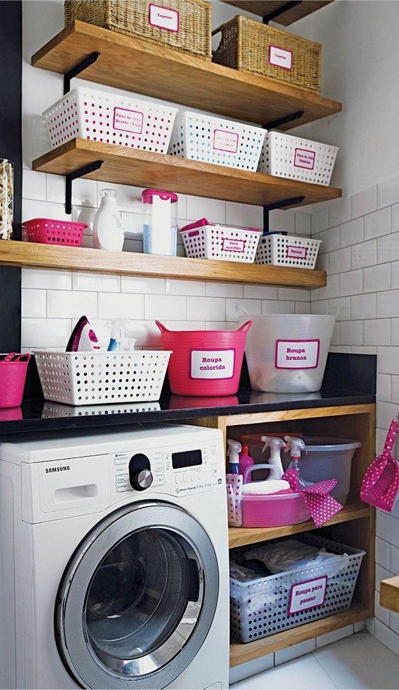 37 ideas practicas para organizar el cuarto de lavado for Ideas para organizar el cuarto