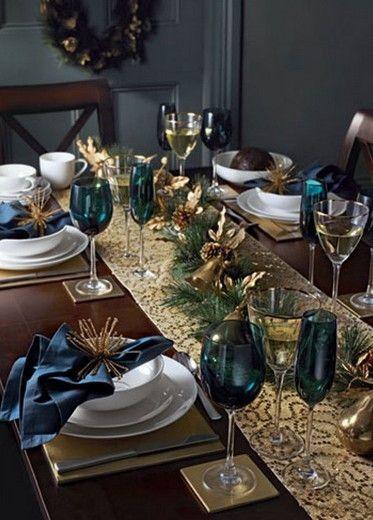 Como Poner una Mesa en Navidad