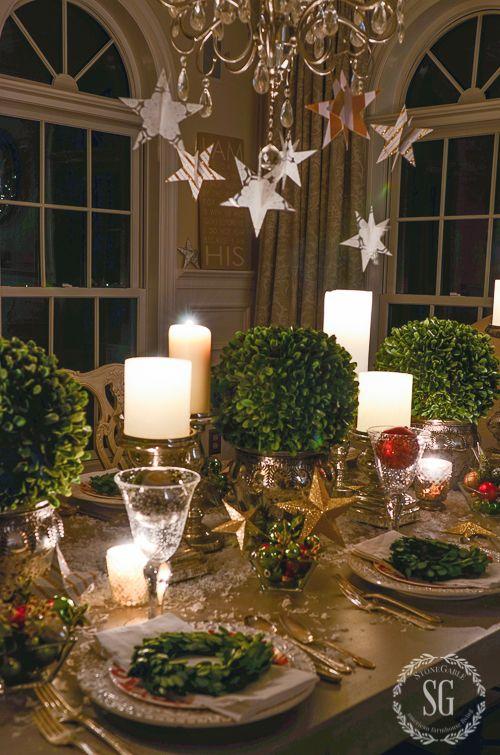 Como poner una mesa en navidad - Como poner la mesa en navidad ...