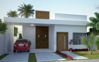 Ideas con Planos para Construir Casas Pequeñas de 86 m2 (8×10.8m)