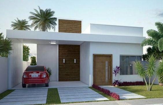 Ideas con planos para construir casas peque as de 86 m2 for Ideas fachadas de casas pequenas