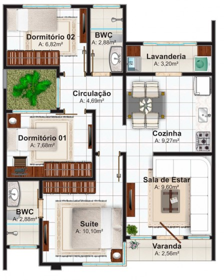 Ideas para construir una casa peque a de 70 metros for Ideas para reformar una casa pequena