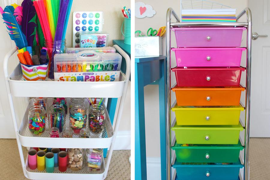 Ideas para organizar el rea de tareas escolares de los - Ideas para organizar la casa ...