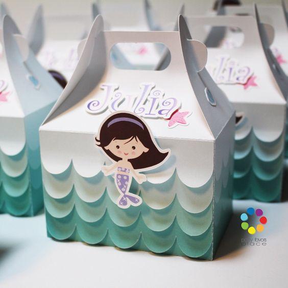 ¡Ideas para Una piñata con el Tema de Sirenita!