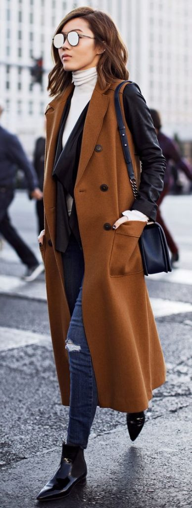 Looks con abrigos largos