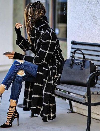 Looks de moda con abrigos largos
