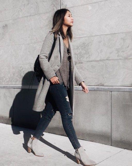 Looks de moda con abrigos