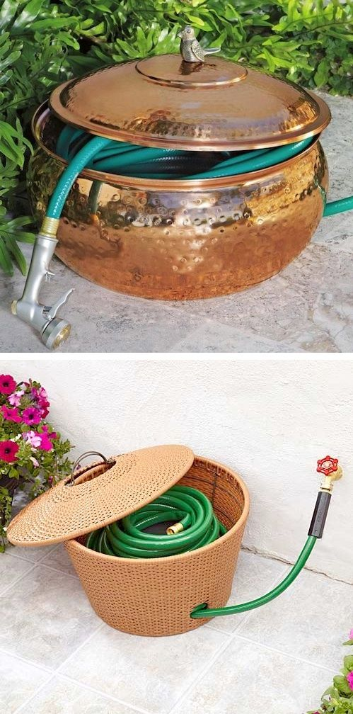 Ordena los art culos que utilizas para mantener lindo tu for Articulos decorativos para jardin