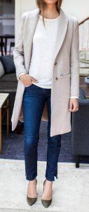 Outfits con abrigos largos invierno 2017 - 2018