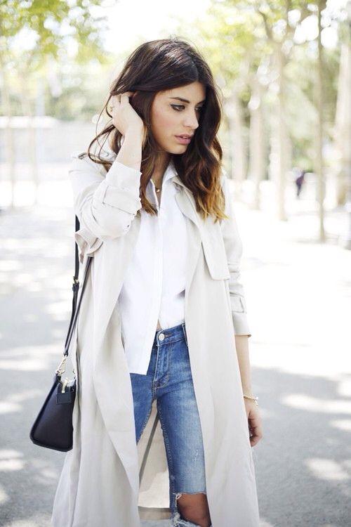 Outfits con abrigos largos