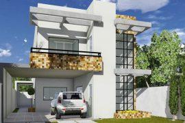 Planos para una Casa de 2 plantas de 80x20