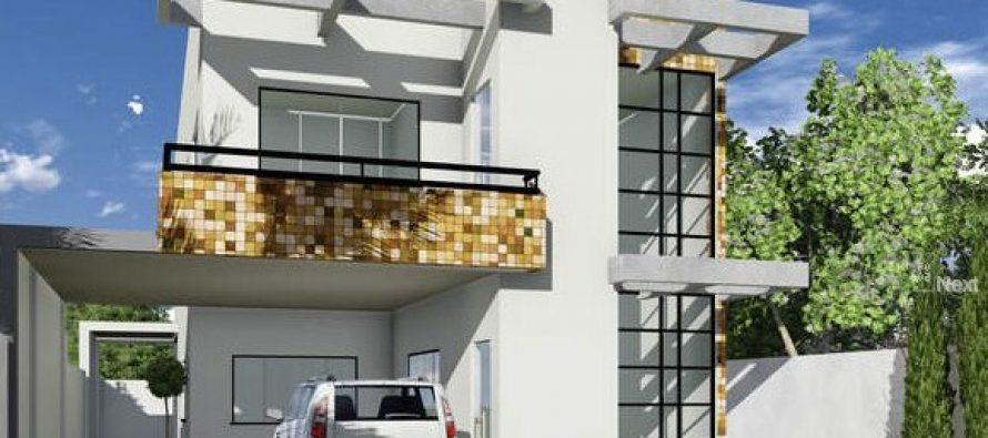 ¡Planos para una Casa de 2 plantas de 80×20!