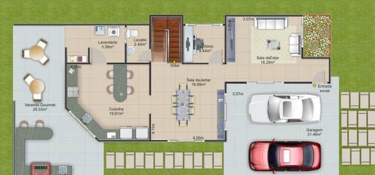 Planos para una casa de 2 plantas de 80x20 decoracion for Planos de casas pequenas de una planta