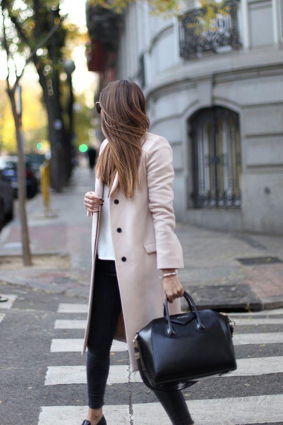 Sacos y abrigos de moda para invierno