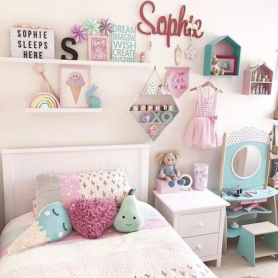 Cabeceras habitaciones infantiles nina 11 decoracion - Habitaciones para nina de 11 anos ...
