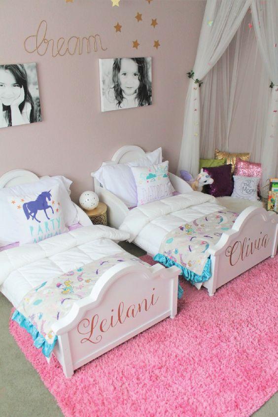 cabeceras-habitaciones-infantiles-nina (18) | Como Organizar ...