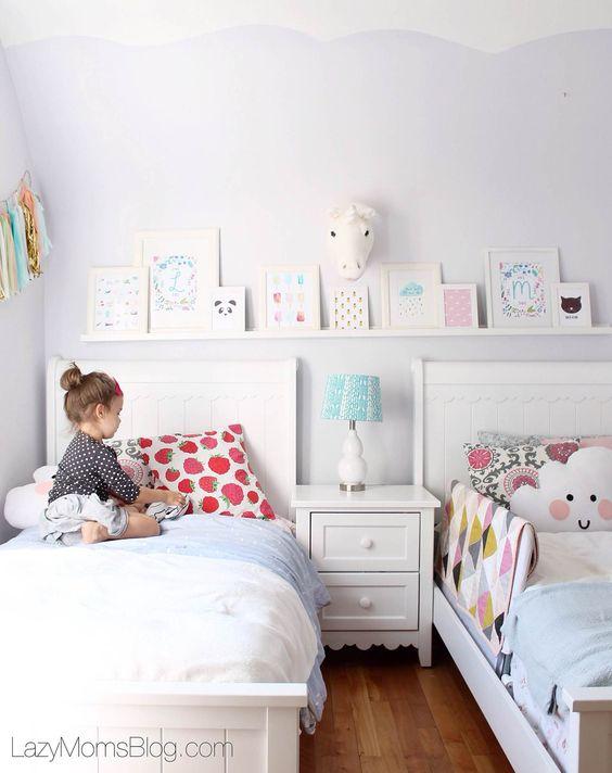 Cabeceras habitaciones infantiles nina 9 como - Habitaciones infantiles de ninas ...