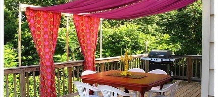 Como decorar el jard n a adiendo una linda mesa curso de - Como decorar una mesa de jardin ...