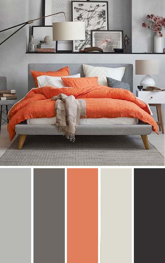 Como decorar tu casa con color naranja