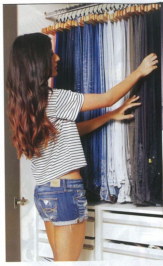 ¿Como organizar jeans?