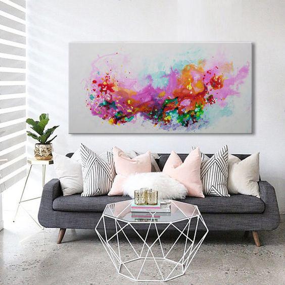 Decoración de salas con colores Modernos