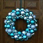 Decoración navideña 2017 en color azul