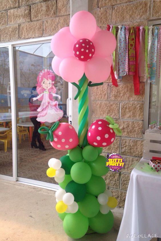 Decoracion Pinatas Rosita Fresita 24 Como Organizar La
