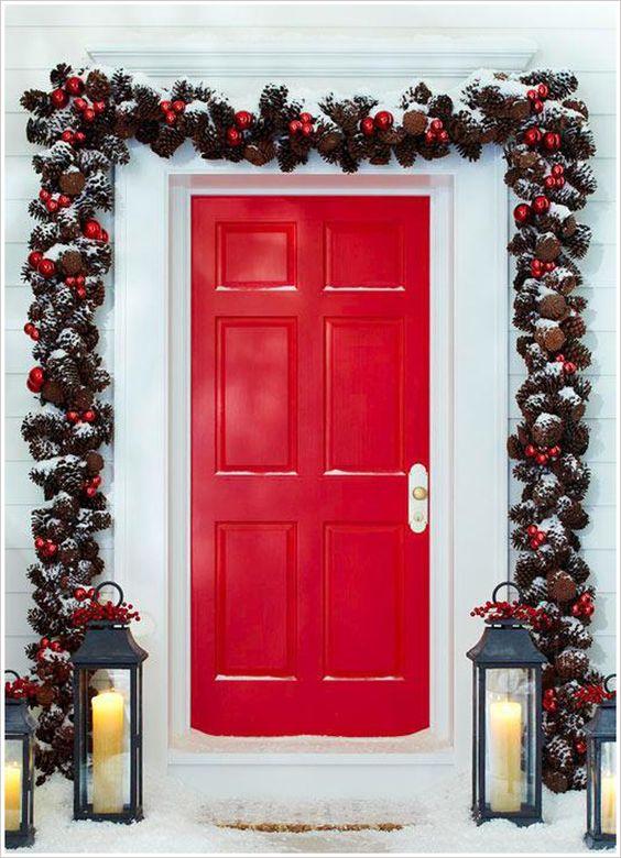 Decoraciones navidenas 2019 la puerta casa 10 como for Decoraciones navidenas 2016 para puertas
