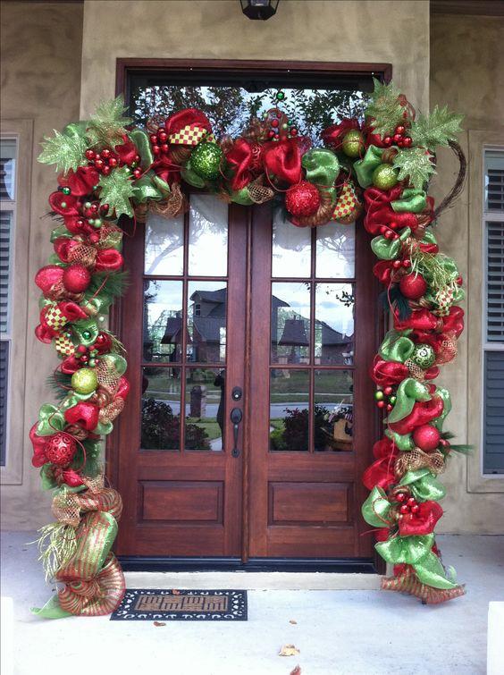 Decoraciones navidenas 2017 la puerta casa 18 - Decoraciones navidenas faciles ...
