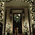 Decoraciones navideñas 2017 para la puerta de tu casa