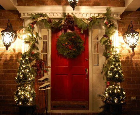 Decoraciones navidenas 2019 la puerta casa 7 como for Decoraciones navidenas para la casa