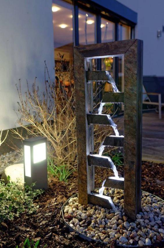 Decorar jardin fuentes 17 decoracion de interiores - Fuente decoracion interior ...