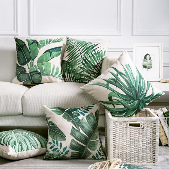 Dise os de cojines decorativos para tu sala de estar - Cojines exterior ikea ...