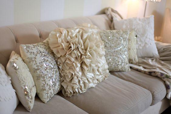 Disenos cojines decorativos sala estar 16 - Modelos de cojines decorativos ...