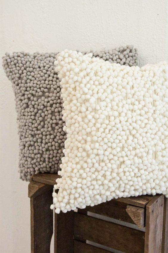 Dise os de cojines decorativos para tu sala de estar - Cojines grandes para suelo ...