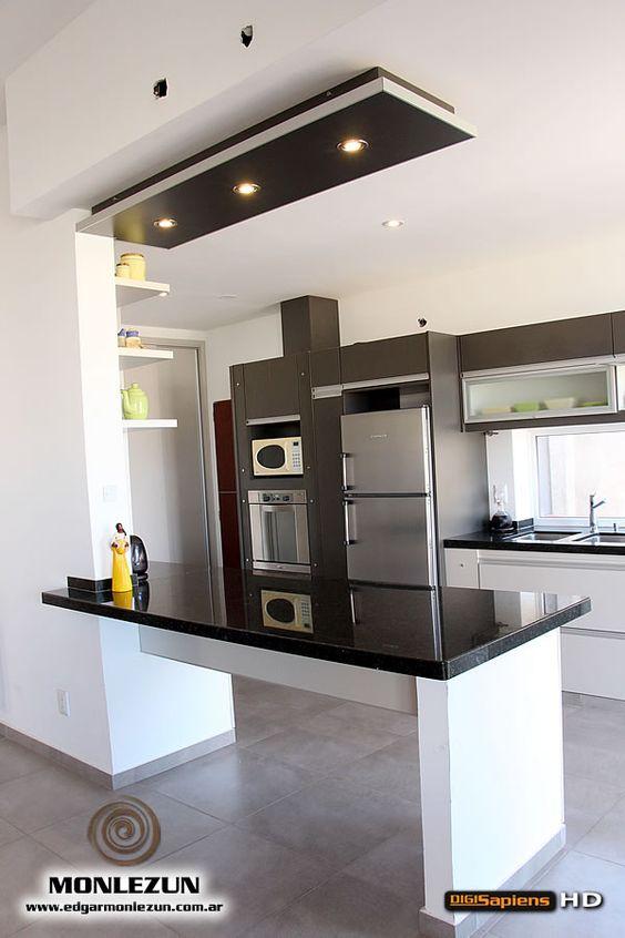 Ideas diseno desayunadores la cocina 25 decoracion de - Cocinas diseno moderno ...