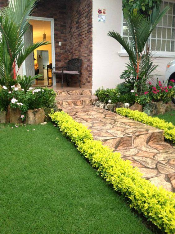 Ideas jardines decorar entradas 27 como organizar la - Detalles de decoracion para casa ...